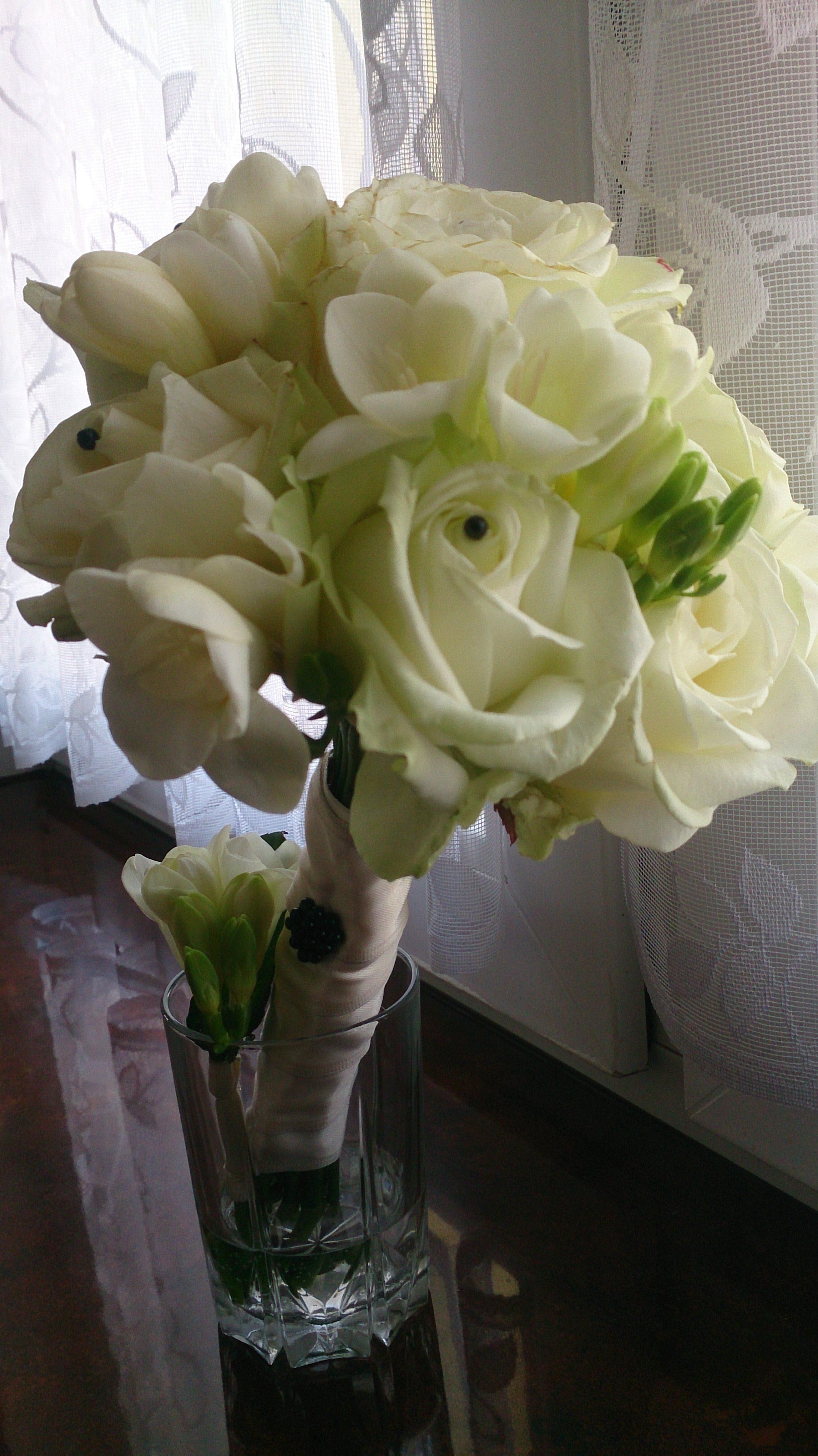 Bukiety ślubne dla świadków by Monika florystyczna pasja