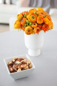 Jaskry - pomarańczowe kwiaty