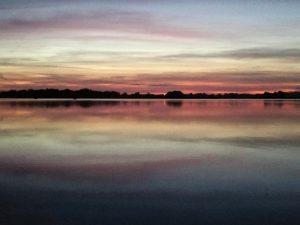 zachody słońca na Mazurach