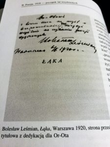 Bolesław Leśmian Łąka wiersze o kwiatach