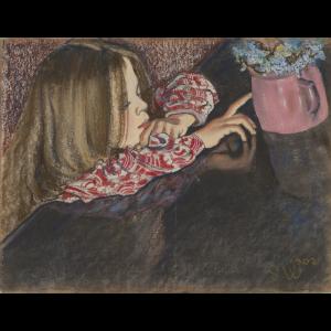 Stanisław Wyspiański kwiaty na obrazach
