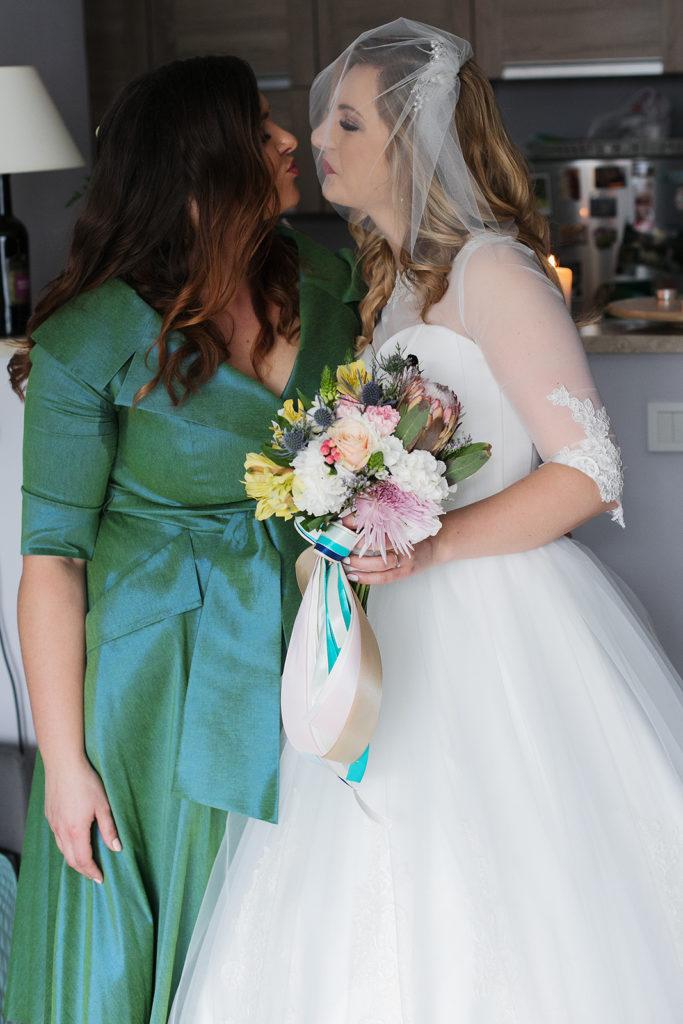 przyjaciółki i bukiet ślybny by Monika florystyczna pasja