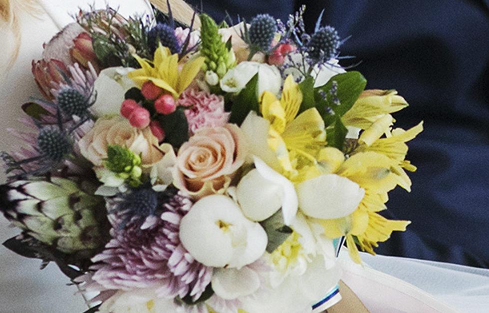 bukiet ślubny by Monika florystyczna pasja