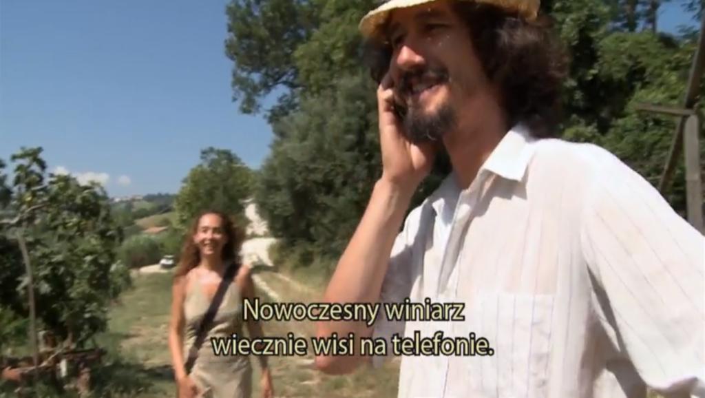 Upór natury - film o winie - winiarze z farmy w magicznym Marches