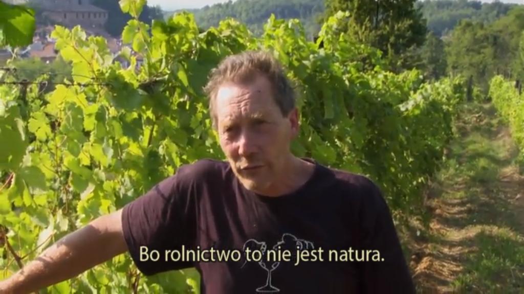Upór natury - film o winie - winiarz Stefano Bellotti